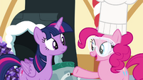 "Pinkie Pie ""I'm making candy for all of us!"" S4E18"