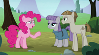 """Pinkie Pie """"how did you two meet?"""" S8E3"""
