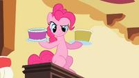 Pinkie Pie holding cake S2E10