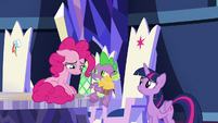 Pinkie suddenly overcome with gloom S9E14