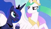 "Princess Luna ""let us bake, sister!"" S9E13"