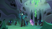 "Queen Chrysalis ""he'll learn just what happens"" S6E26"