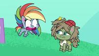 "Rainbow ""feel bad about being so bad"" PLS1E2b"