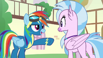 """Rainbow """"you're kicking off our show"""" S9E3"""