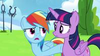 "Rainbow Dash ""he wasn't even trying!"" S6E24"