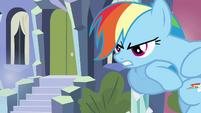 Rainbow Dash getting angry S3E1