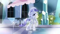 Rarity as Crystal Pony fantasy S3E1
