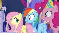 S05E03 Fluttershy, Dash i Pinkie