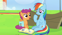 """Scootaloo """"confidence to believe in yourself"""" S7E7"""