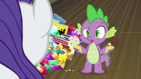 """Spike """"I'm not mad at you"""" S9E19"""