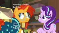 Sunburst and Starlight hear Twilight's voice S7E24