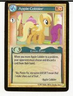 Apple Cobbler demo card MLP CCG