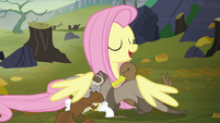 """Fluttershy """"I'm gonna take you all home with me"""" S5E23"""