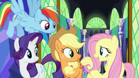 """Fluttershy """"fostering friendships is what ponies do"""" S7E11"""