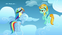 Lightning 'Not every pony is destined to become a Wonderbolt' S3E07