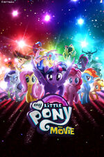 MLP The Movie entire cast mobile wallpaper