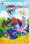 My Little Pony Transformers issue 1 cover RI-B