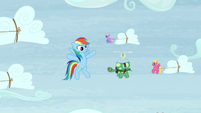 Rainbow -for our extreme sledding!- S5E5