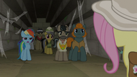 "Rainbow Dash ""he's just the bad guy!"" S9E21"