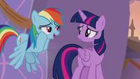 "Rainbow Dash ""we'll believe you"" S9E17"