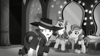 """Rarity """"Somepony sent Spitfire away and framed Rainbow Dash for it"""" S5E15"""
