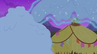 S07E11 Rarity usuwa śnieg z chatek