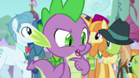 """Spike """"I could tell these delegates anything"""" S5E10"""