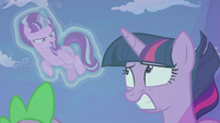 "Starlight ""why else would I leave the scroll behind?"" S5E25"