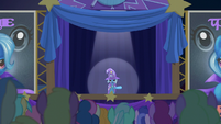 Trixie unenthusiastic --come one, come all-- S6E6