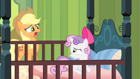 "Applejack ""She's not here!"" S4E17"