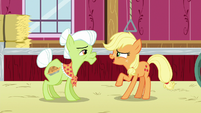 "Applejack ""when did you first fight the apple blight"" S6E23"