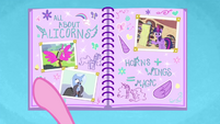 Baby Flurry Heart's Heartfelt Scrapbook page three BFHHS3