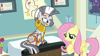 """Fluttershy """"if you hadn't been helping me"""" S7E20"""