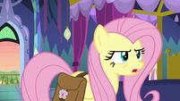 """Fluttershy """"no use trying to talk me out of this"""" S7E20"""