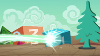 Magic spell fires upon a giant die S6E17