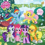 My Little Pony Hooray for Spring! storybook cover