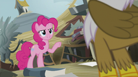"Pinkie ""You just helped your friend up"" S5E8"