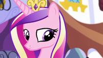 Princess Cadance suspects Spike's motives S5E10