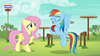 """Rainbow Dash """"it's all about ball control"""" S6E18"""