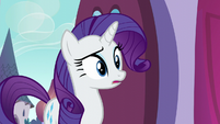 Rarity surprised by the turnout S5E14