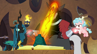Tirek casting a spell on Bewitching Bell S9E24