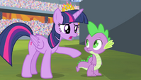 """Twilight """"you keep saying you let everypony down"""" S4E24"""