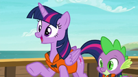 "Twilight Sparkle ""even long time friends need"" S6E22"