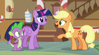 """AJ """"We haven't even asked how your weekend went"""" S5E22"""
