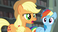 "Applejack ""one of the hardest things I ever had to do"" S4E25"