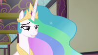 "Celestia ""shaping young pony minds"" S8E1"