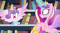 Flurry Heart about to sneeze S6E2
