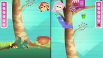 Fluttershy's avatar tosses the peanut EGDS34