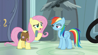 """Fluttershy """"it just came out last week"""" S9E21"""