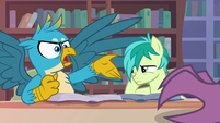 """Gallus """"could you stop that clicking?!"""" S8E22"""